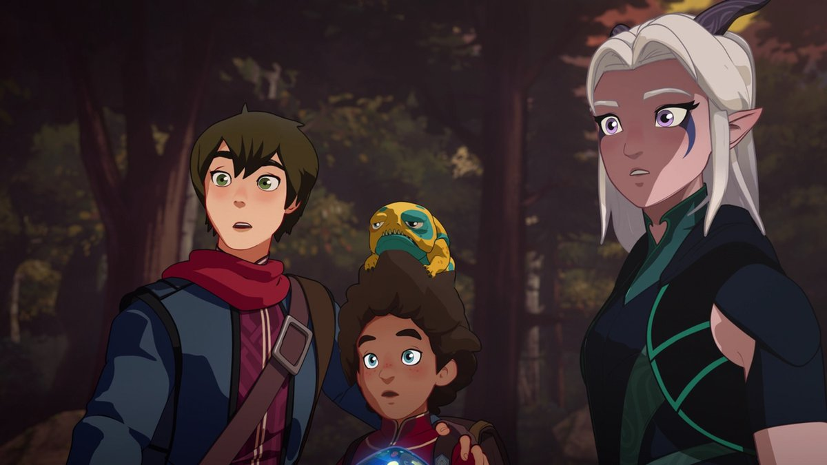 The Dragon Prince grabs attent...