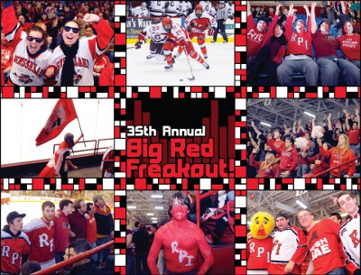 Big Red Freakout! Spread Preview